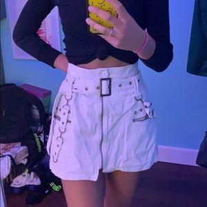 LF zip up skirt